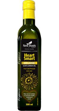 Heart Smart Organic Sunflower Oil