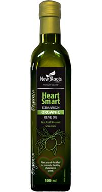 Heart Smart Organic Extra Virgin Olive Oil