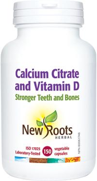 Calcium Citrate and Vitamin D