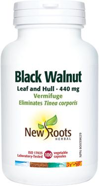 Black Walnut Leaf and Hull