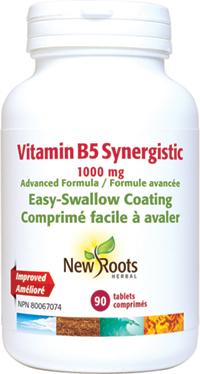 Vitamin B5Synergistic